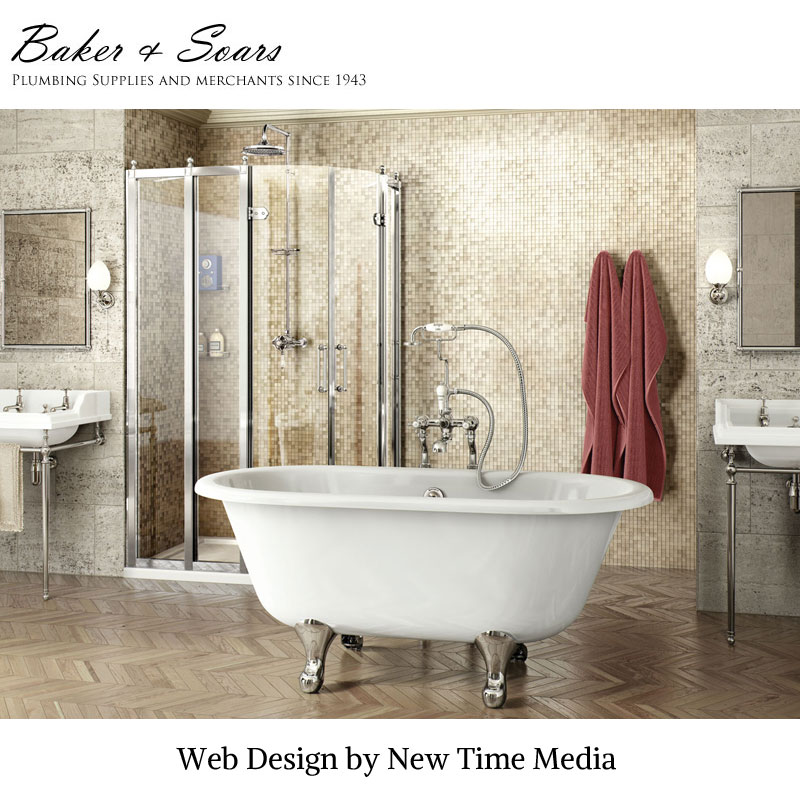 Website design of Plumbing Merchant Baker and Soars