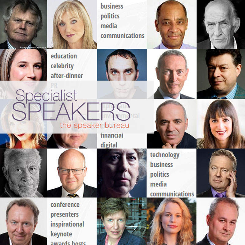 Website of Specialist Speakers Speaker Bureau by New Time Media