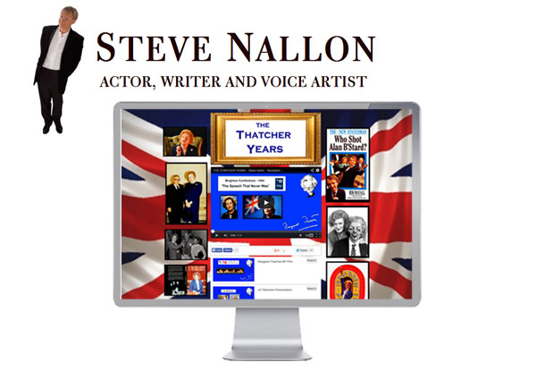 Steve Nallon Website profile