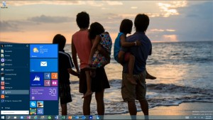 windows 10 homepage